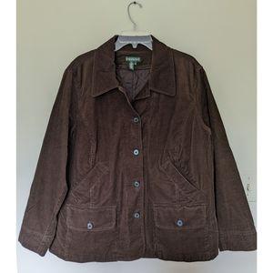 Ralph Lauren brown corduroy jacket